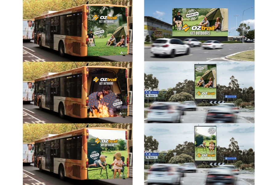 OZtrail National Outdoor Transit Brand Campaign